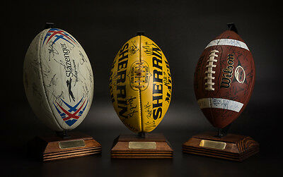 Afl Ball / Display Trophy Stand