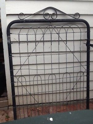 Woven Wire And Gate
