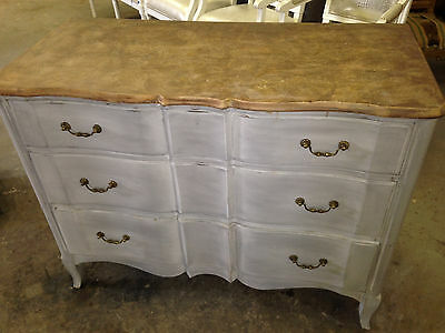 1920's French 3 Drawer Chest