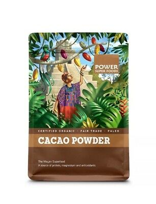 ✅POWER SUPERFOODS Organic Cacao Powder 1kg Health Foods