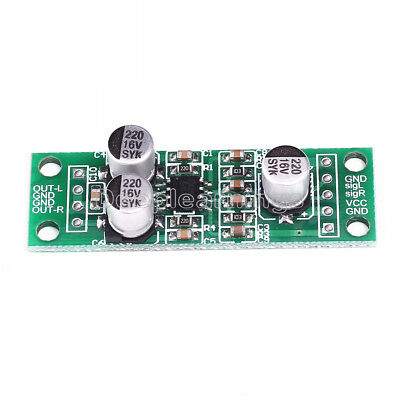 TDA2822 Stereo Audio Amplifier Board AMP Module Small Micro Assembled DC 3V-5V S