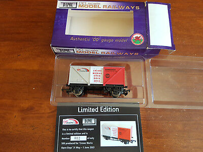 Dapol Crewe Open Day Van Limited Edition Excellent Condition Boxed Oo Gauge(By)