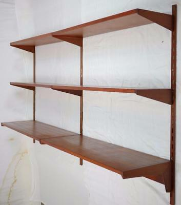 MODERN DANISH DESIGN - TEAK FM WALL-UNIT SYSTEM by KAI KRISTIANSEN