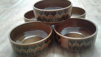 Retro Hornsea English Bowls - Heirloom x 5