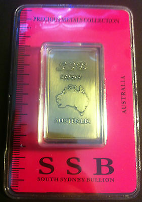 1 oz .999 Solid Bronze Bullion Certified Ingot (Australia) 8 To Collect