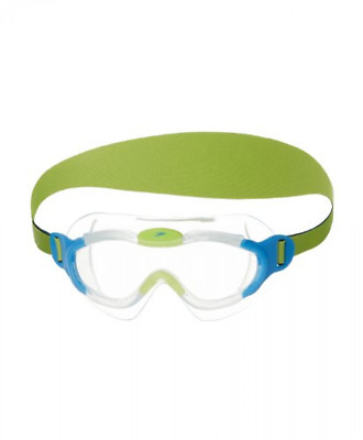 Speedo Junior Sea Squad Mask Goggles - Clear/Blue, One Size