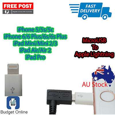 Apple MicroUSB to Lightning Connector Convert Your Old USB Cable Lightning Cable
