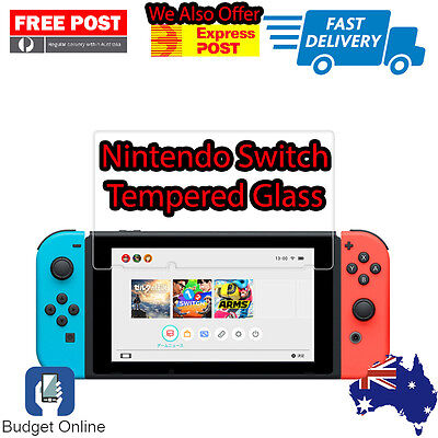 Premium Tempered Glass For Nintendo Switch Gaming Console Screen Protector 9H