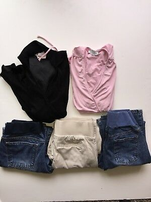 Lot Used Good Condition Maternity Tops and Pants Size Small