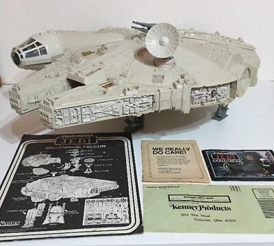 Vintage Star Wars Millennium Falcon 100% Complete With Instructions Nr-mint