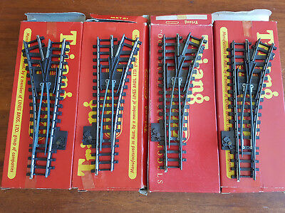 Triang Super 4 Points X 4 As Shown Very Good Condition Boxed Oo Gauge (Bd)