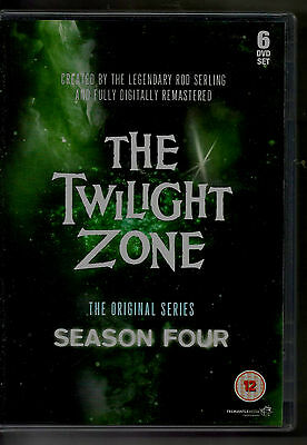 Twilight Zone  Season 4  ALL REGION PAL BRAND NEW, BUT UNSEALED!