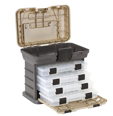 New Organizer Storage Tool Box Nuts Stow Gray Screws Bolts Nuts Drawers Home HQ
