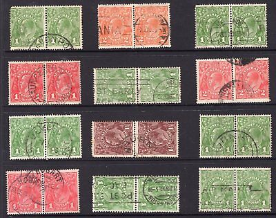 Australia group of KGV pairs see scans x 2
