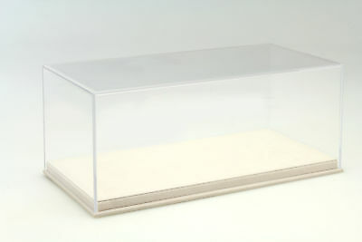 Quality Acrylic Display Cabinet with Alcantara Floor Plate for Model Cars Scale