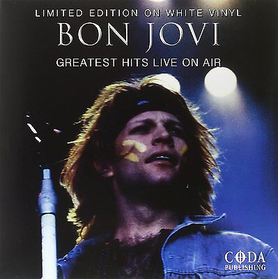 Bon Jovi - Greatest Hits Live On Air: Limited Edition on White Vinyl