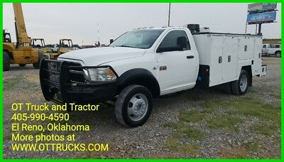 2012 Ram Other ST 2012 Dodge RAM 5500 HD 2wd Reg Cab Maintainer Mechanics Service Utility Bed