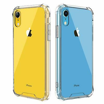 For iPhone XR XS X 8 7 Plus Slim Clear Hard Case Cover Mosafe® TPU Shockproof US