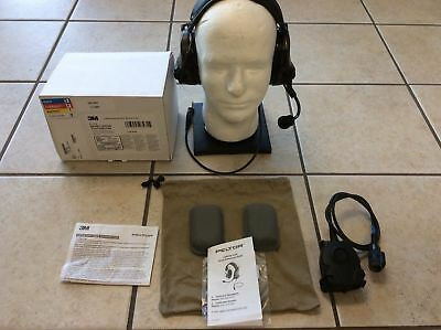 Peltor Comtac III 88078 ACH COYOTE  Single COMM Tactical Head Set PUSH TO TALK
