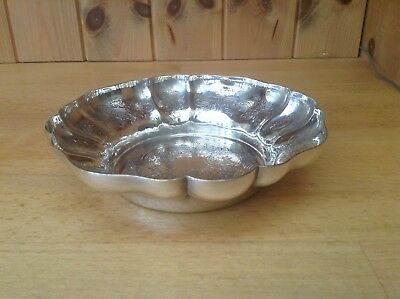 Silver Plated Walker & Hall Fancy Bon Bon Dish