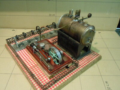 Antique & Collectable Steam Engine Dampfmaschine: Bing/Marklin type, Runs well