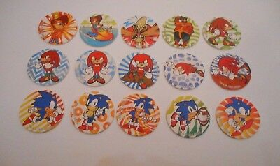 **15 x SONIC THE HEDGEHOG CAPS-FREE POST**