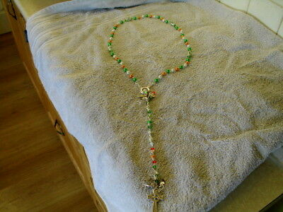 Irish Republican Rosary Beads Tricolour Pattern Hand Made In Ireland New Release