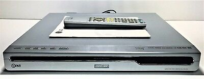 Lg Hdd/dvd Recorder | Rh7823W | Includes Remote + Manual | Tested & Works | R4
