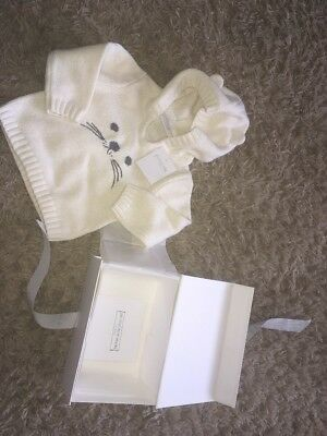 The Little White Company Unisex Hoody Jumper 3-6months BNWT