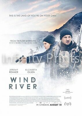 Wind River Movie Film Poster B A3 A4