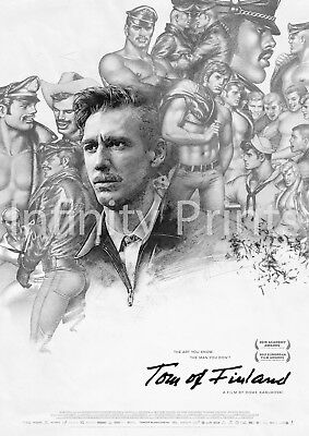 Tom of Finland Movie Film Poster A2 A3 A4