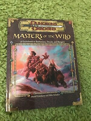 dungeons&dragons masters of the wild