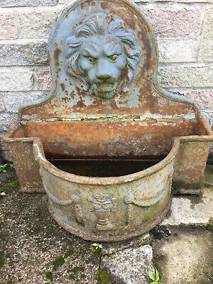 Antique Cast Iron Planter