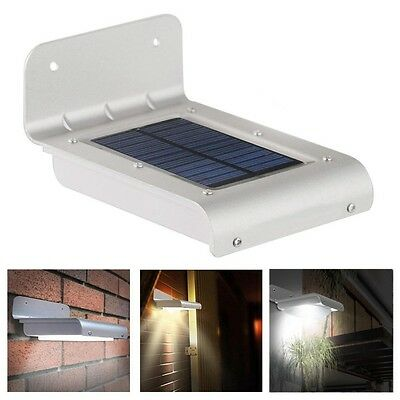 Solar Lights Outdoor 24 LED Super Bright Motion Sensor Garden Wall Security Lamp