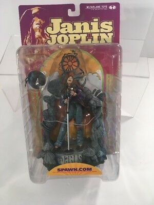 Brand New/ Sealed Janis Joplin Super Stage Action Figure McFarlane Toys NIB*
