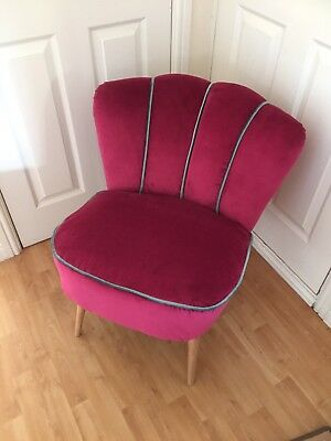 Cocktail Chair Mid Century Modern