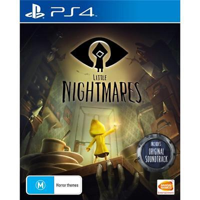Little Nightmares Sony PlayStation 4 PS4 GAME BRAND NEW FREE POSTAGE