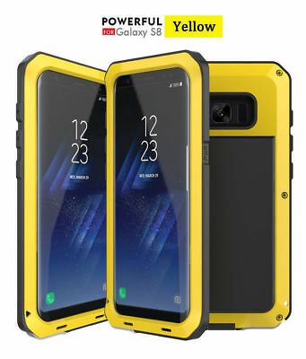 Shockproof Waterproof Metal Aluminum Heavy Duty Case Cover Samsung Galaxy Note 8
