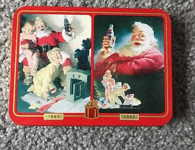 1996 Coca Cola Nostalgia Playing Cards In Tin New In Plastic