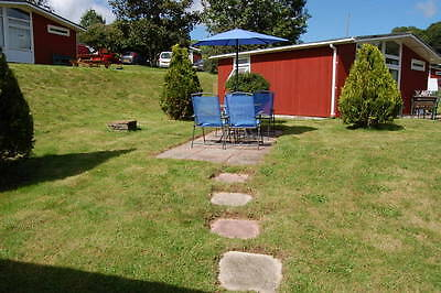Self Catering Chalet, W. Wales - Autumn Bargain - Sept / Oct 2017