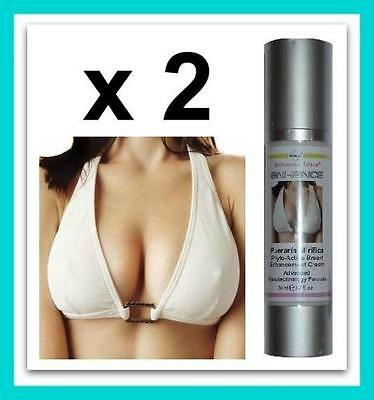 2x Breast Enlargement Cream Actives Enhancement Larger Bust Quick Cup Enhancer