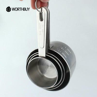 Stainless Steel Measuring Cup Kitchen Measuring Tools Sets For Baking Spoons Kit