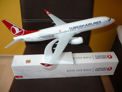 Turkish Airlines Boeing B737-800 WL Scale 1:100 39cm THY/TK
