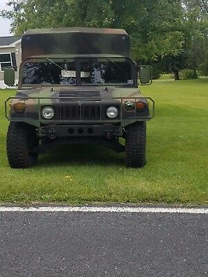 1993 2 Door Soft Top Military Humvee/road Legal And Has Title