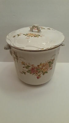 Vintage Empire Trenton New Jersey June Rose Chamber Pot