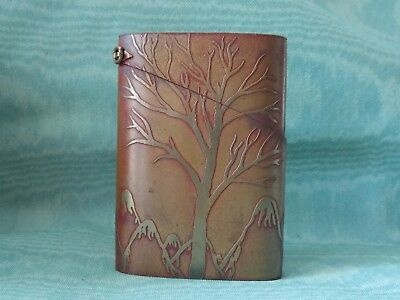 Superb Antique Rare Brass Cigarette Case From Japan