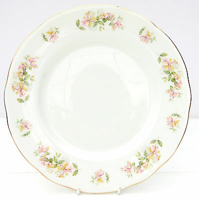 Vintage Duchess Honeysuckle Bone China Dinner Plate