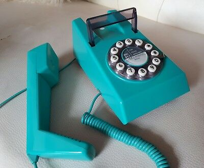 Retro 60's 70's Vintage Style Trimphone With Push Buttons Trim Phone Telephone