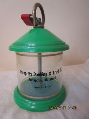 Vintage Annapolis Banking & Trust Advertising Coin Bank