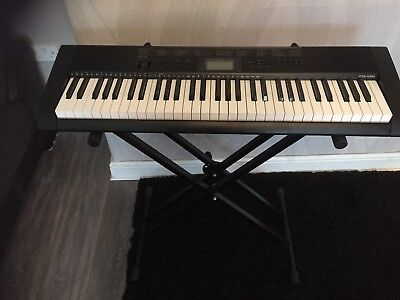 Casio CTK-1150 Keyboard With stand and carrying case
